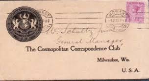 Correspondence Club Business