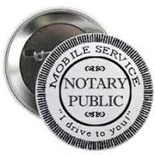 Mobile Notary Public Business