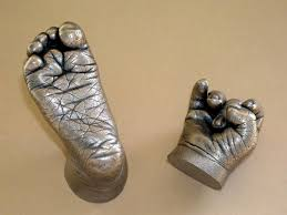 Baby Handprint and Footprint Bronzing Service Business