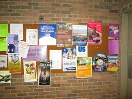 Bulletin Board Advertising Service Business