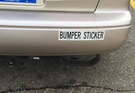 Bumper Stickers Business