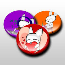 Buttons Badges Business