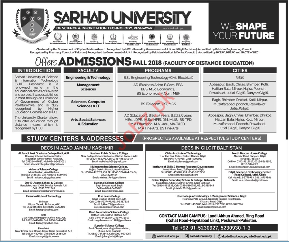 bs engineering technology admission