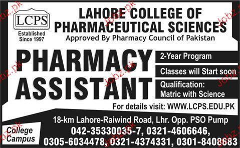 college of pharmaceutical sciences