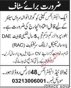 Supervisors Job Opportunity