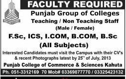Teaching and Non Teaching Staff Job Opportunity
