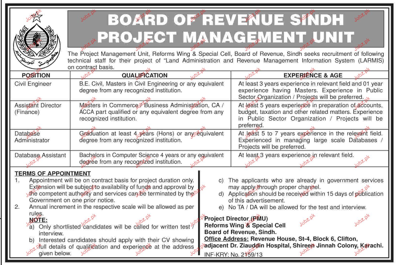 Civil Engineers Job in Sindh
