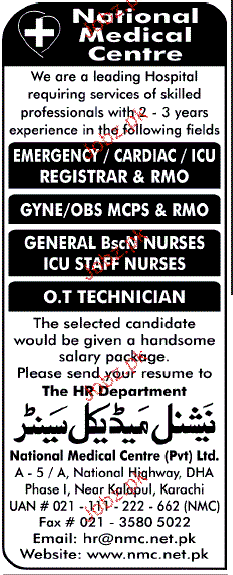 ICU Staff Nurses, General Nurses Job Opportunity