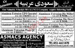 Aluminum Extrusion Operators Job Opportunity 2019 Job Advertisement