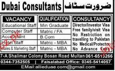 Accountant, Hotel Staff, Marketing Staff Job Opportunity
