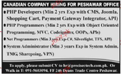 Php Programmers, Net Programmers Job Opportunity