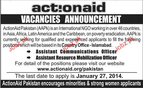 Assistant Communication Officers Job Opportunity