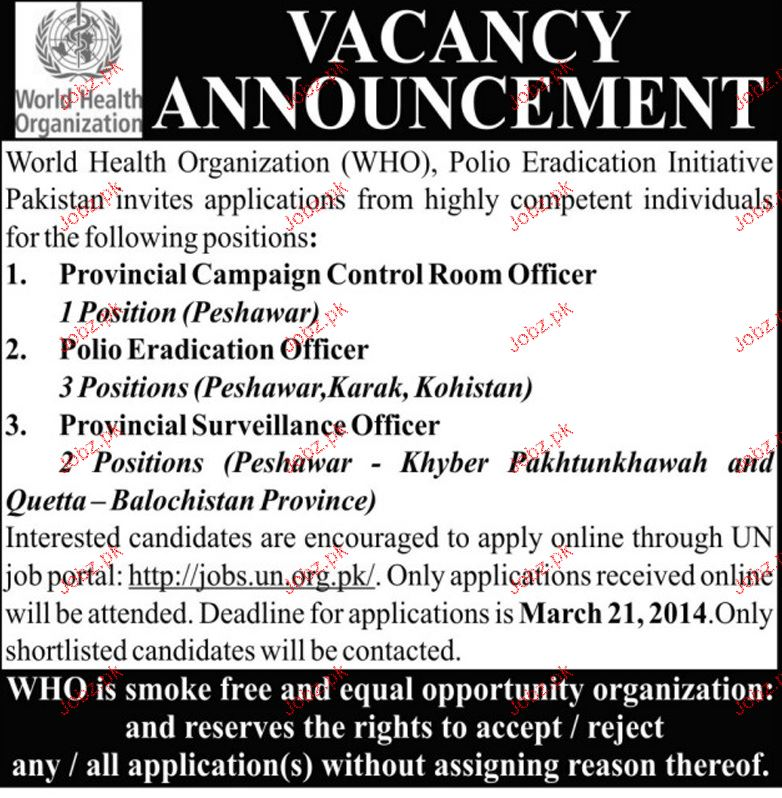 Provincial Campaign Control Room Officers Wanted