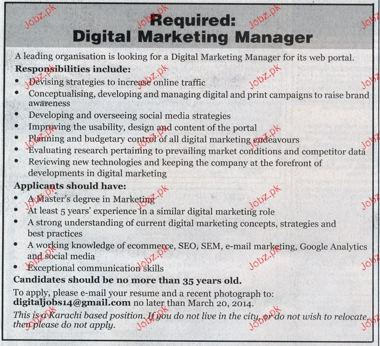 Digital Marketing Manager Job Opportunity 2018 Jobs Pakistan. Network Attached Storage Comparison. St Juliana School West Palm Beach. Sales Management Courses Online. Grain Free Dog Food Canada Ipower Web Hosting. Hawaii Insurance Companies Clean Air Act Law. How Much Does Dish Internet Cost. Best Place To Get Credit Score. Canal St New Orleans Hotels Air Idaho Rescue