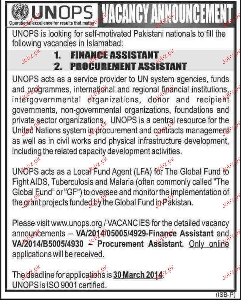Finance Assistant And Procurement Assistant Job Opportunity  Financial Assistant Job Description