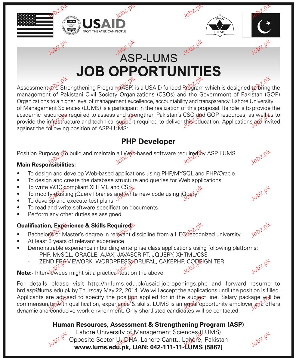 Php Developers Job Opportunity