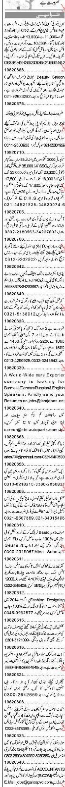 Sunday Express Classified Security Guards Job Opportunity