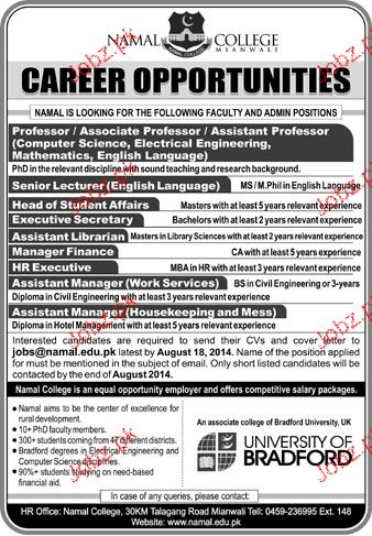 Job Opportunities