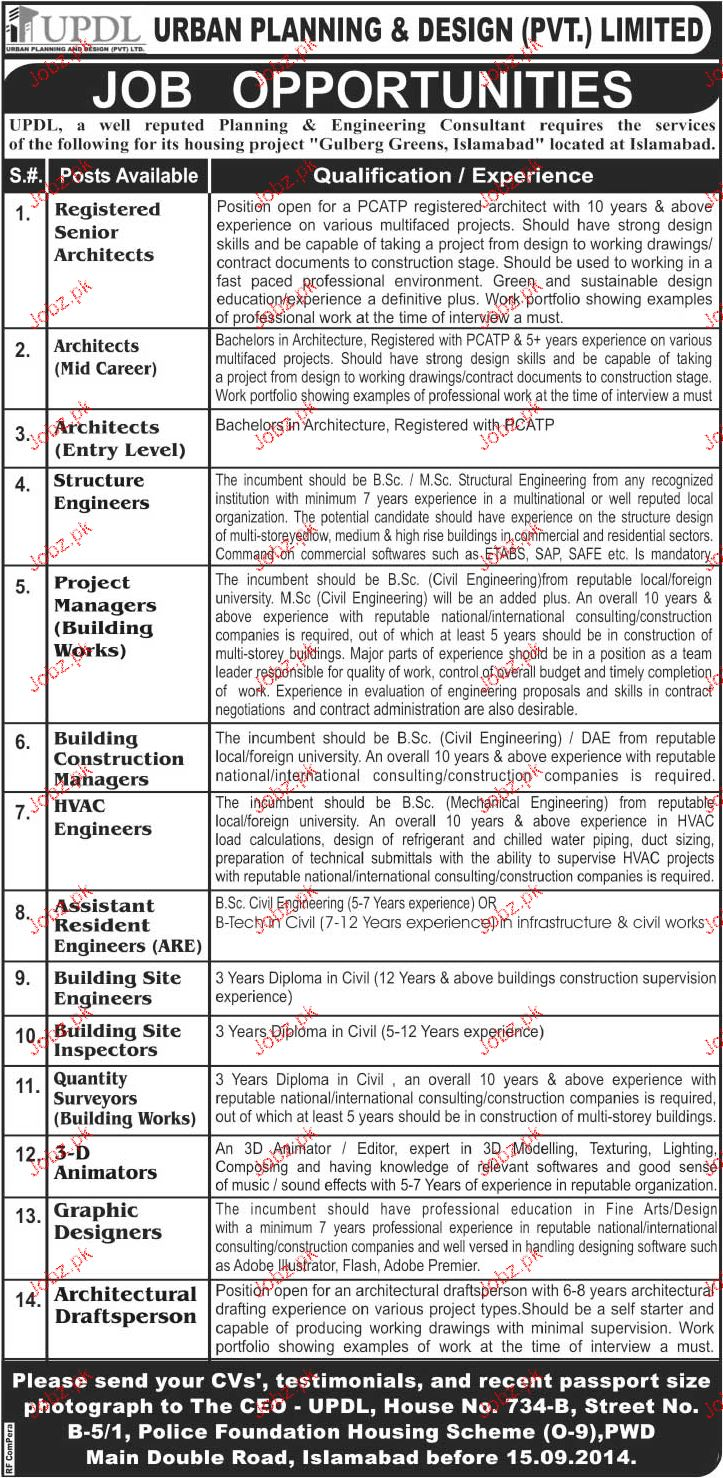 assistant resident engineers quantity surveyors wanted 2017 jobs pakistan jo. Black Bedroom Furniture Sets. Home Design Ideas