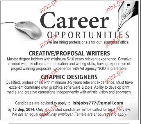 Career In Creative Writing