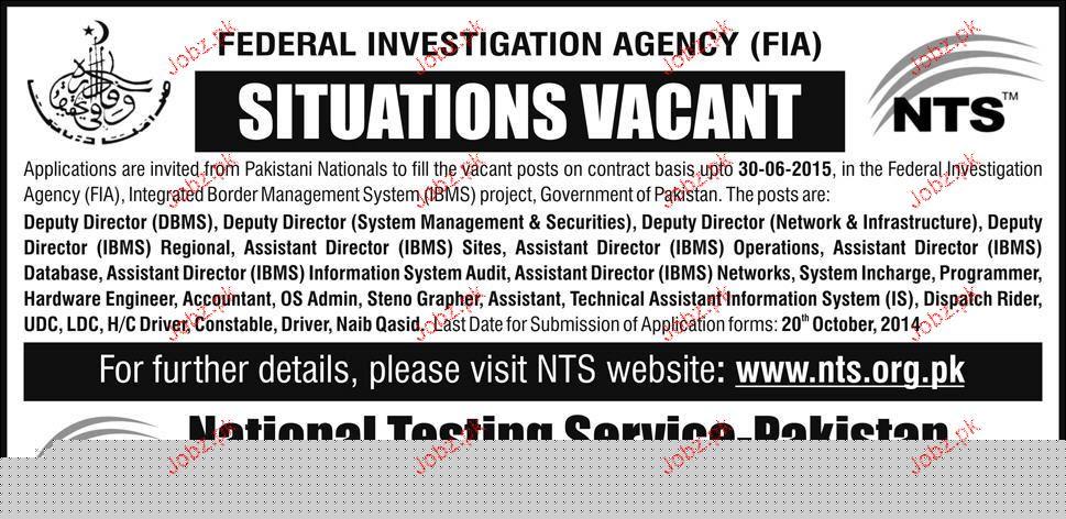 Deputy Directors, Directors, Assistant Director Wanted