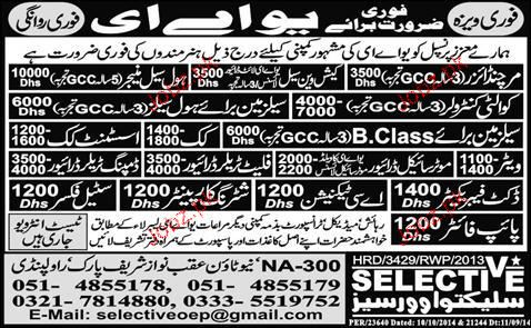 Cook, Assistant Cook, Sale Manager Job Opportunity