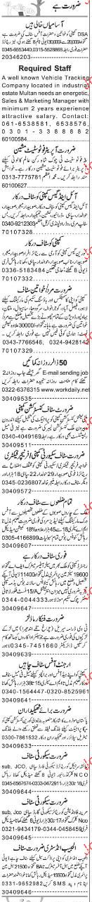 Office Assistant, Security Guards Job Opportunity