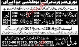 Carpenters, Steel Fixers, Charge Hand Steel Fixer Wanted