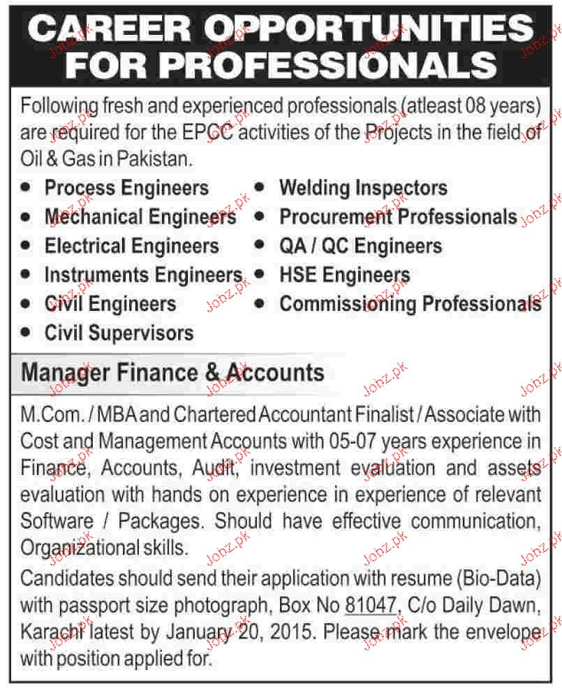 Mechanical Engineers, Process Engineers Job Opportunity 2018 Jobs ...