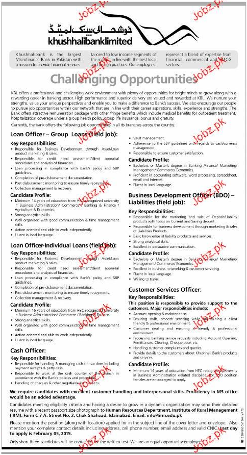 Loan Officers, Business Development Officer Wanted
