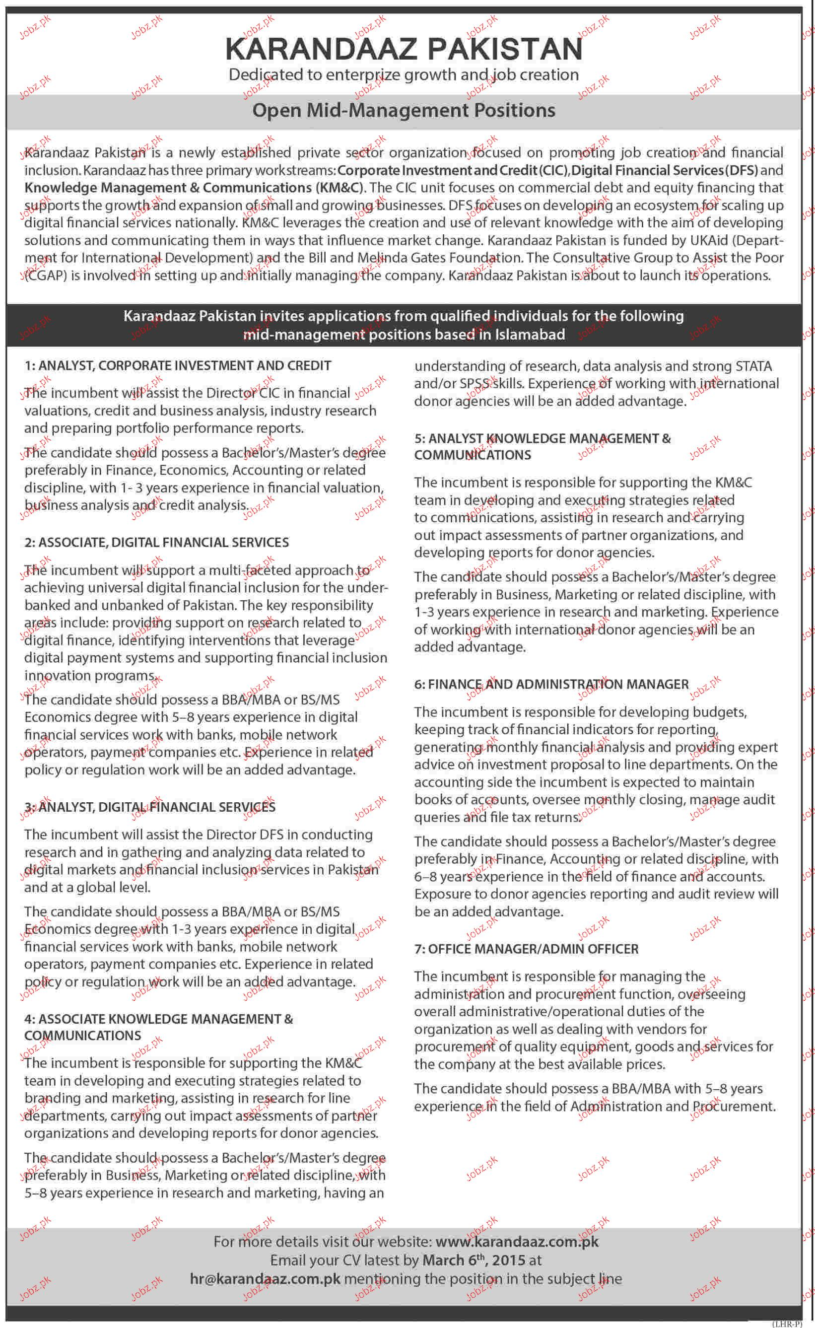 Analyst, Analyst Knowledge Management Job Opportunity