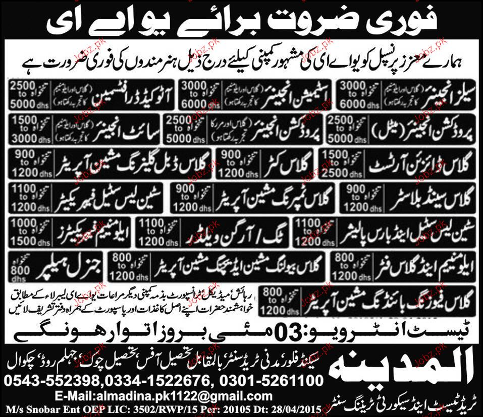 sales engineers production engineers job opportunity 2017