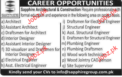Architects assistant architects interior designers - Interior design job advertisements ...