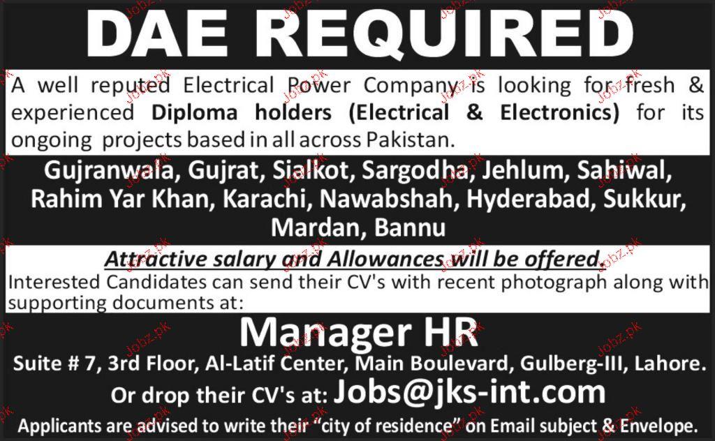 Diploma Holders Job Opportunity 2018 Jobs Pakistan
