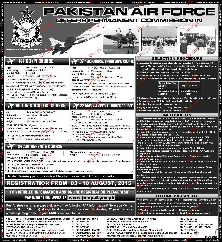 Air Force Job – name