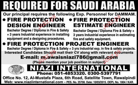 Fire protection design jobs