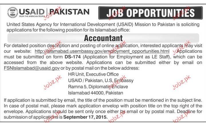 Accountant Job Opportunity