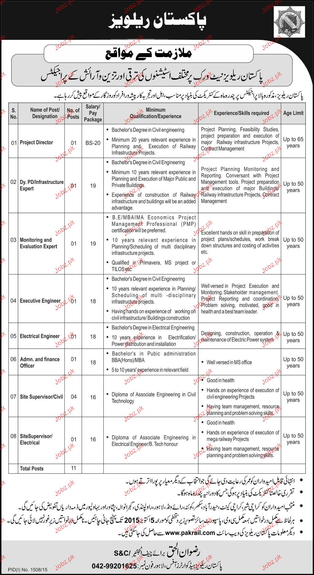 Project Director, Monitoring & Evaluation Experts Wanted
