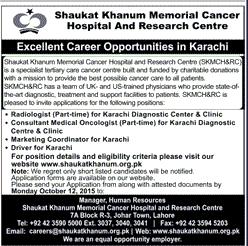 Radiologist, Marketing Coordinators Job Opportunity