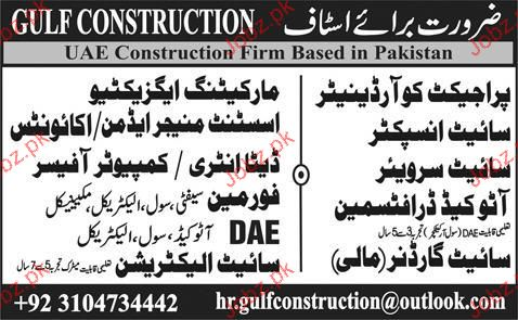 Project Coordinators, Marketing Executives Job Opportunity