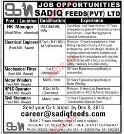 HR Manager, Electrical Engineers Job Opportunity