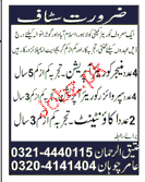 Manager Couriers, Supervisors and Accountant Wanted