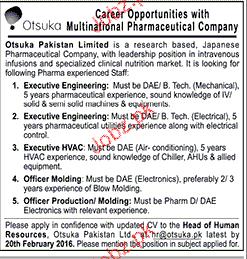 Executive Engineer, Executive HVAC Job Opportunity