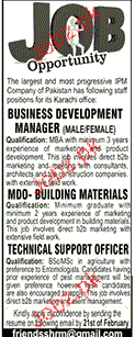 Business Development Manager, MDO Job Opportunity