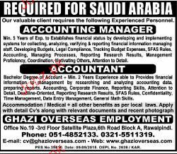 Accounting Manager and Accountant Job Opportunity