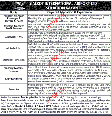 Assistant Manager, AC Technicians Job Opportunity