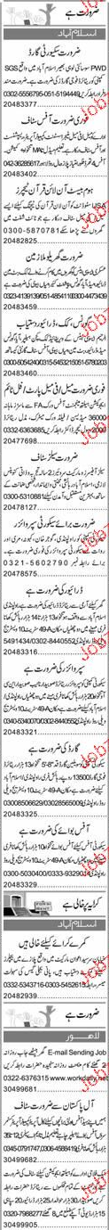 Office Manager, Security Guards Job Opportunity
