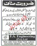 Technical Foreman, Fabricators, Dye Makers Wanted