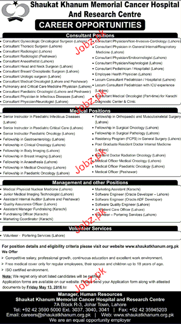 Medical Officers, Marketing Assistants Job Opportunity