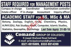 Academic Staff Job Opportunity